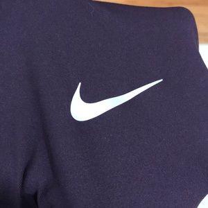 Nike Tops - Plum Nike Dri Fit ZIP up. Size M